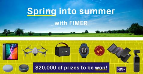 Spring into summer with fimer