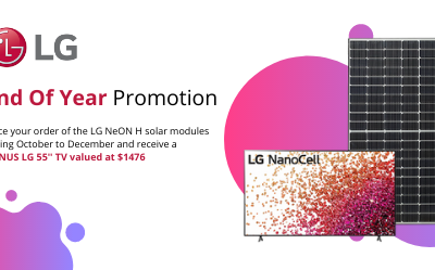 LG Solar End of Year Promotion
